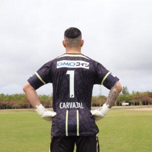 AWAYGK_カルバハル選手_back